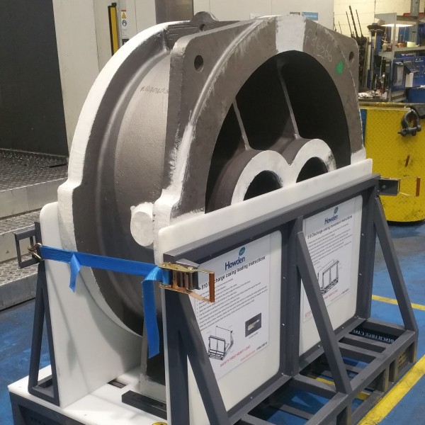 howden compressors bespoke fabrication plastic fabricator metal contact storage solution secure safety health