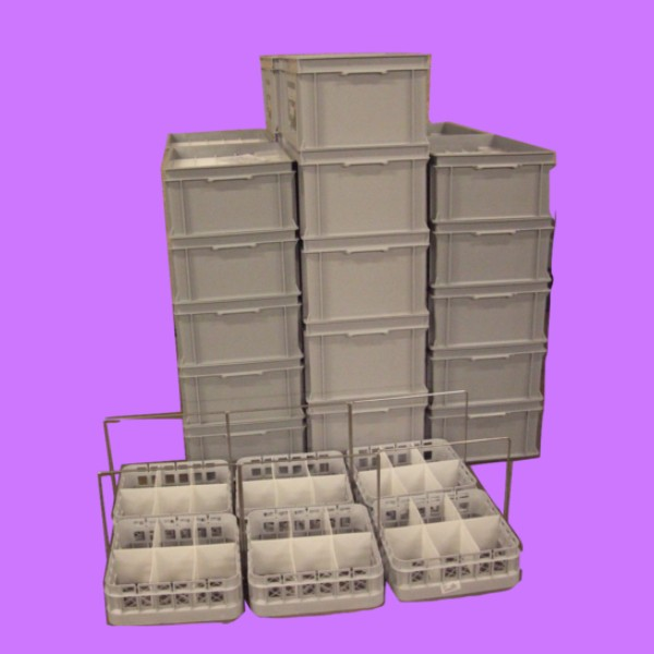 bespoke fabrication plastic fabricator euro containers dividers identification baskets handles